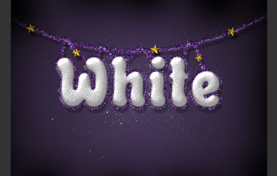 Snowy Festive Text Effect step 11