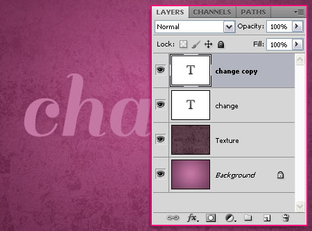 Soft Sleek Text Effect step 2