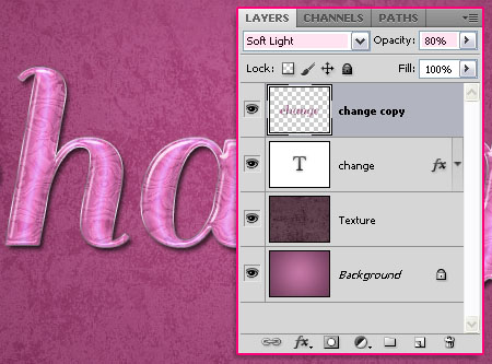 Soft Sleek Text Effect step 5