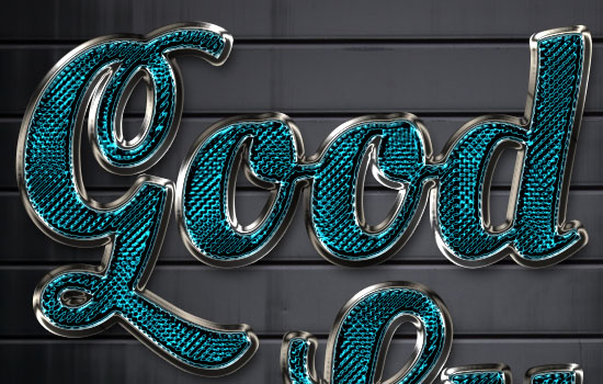 Sparkling Glass-Textured Text Effect step 6