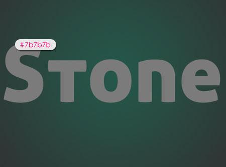Stone 01 2 - Stone Text Effect | Photoshop Tutorials