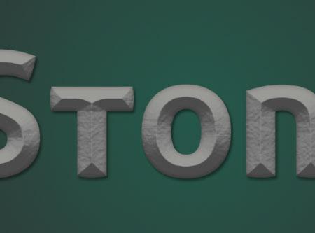 Stone 02 5 - Stone Text Effect | Photoshop Tutorials