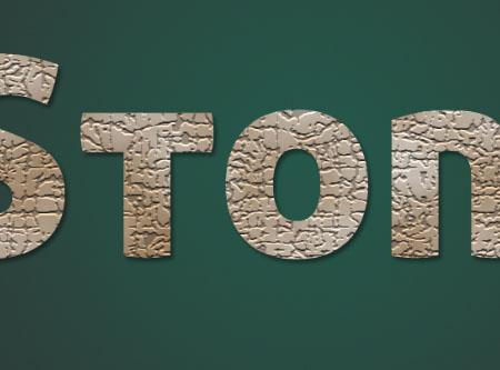 Stone 03 4 - Stone Text Effect | Photoshop Tutorials