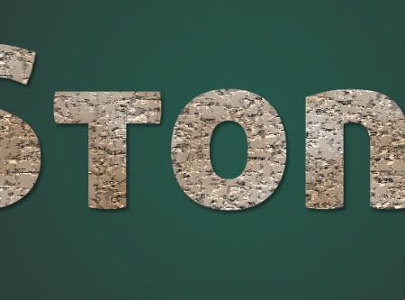 Stone 03 6 - Stone Text Effect | Photoshop Tutorials