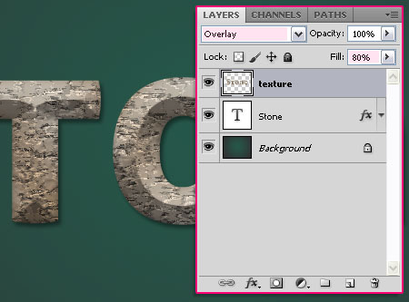 Stone 04 1 - Stone Text Effect | Photoshop Tutorials