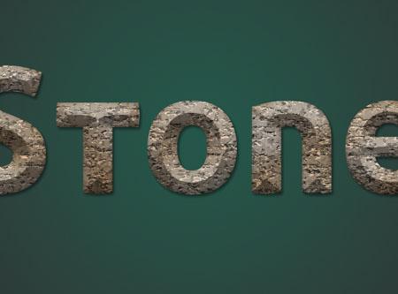 Stone 04 3 - Stone Text Effect | Photoshop Tutorials