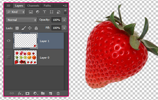 Strawberry Text Effect step 12