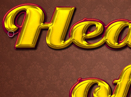 Stylish Gold Text Effect step 7