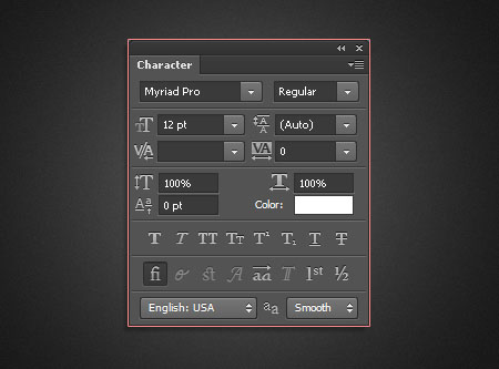 Type Styles in Photoshop CS6