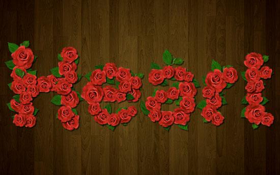 Velvet Roses Text Effect