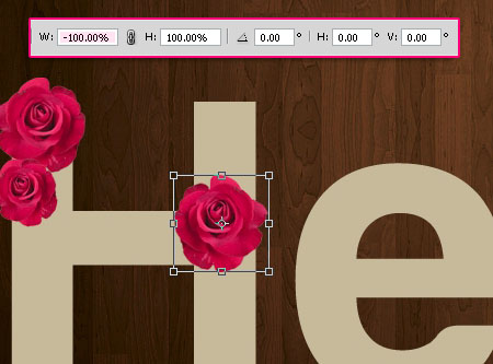 Velvet Roses Text Effect step 5