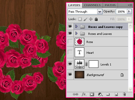 Velvet Roses Text Effect step 7