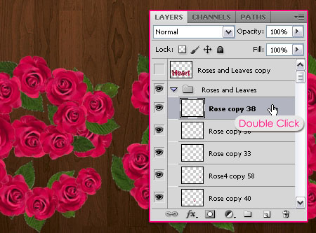 Velvet Roses Text Effect step 8