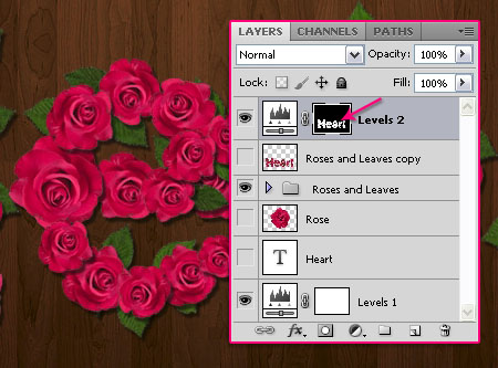 Velvet Roses Text Effect step 9