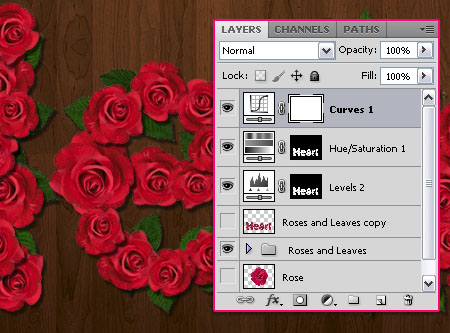 Velvet Roses Text Effect step 10