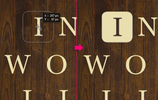 Vintage Tiles Text Effect step 3