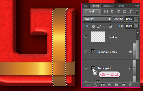 Wrapped Gift Box Text Effect step 8