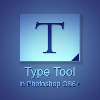 Type Tool - The Options Bar