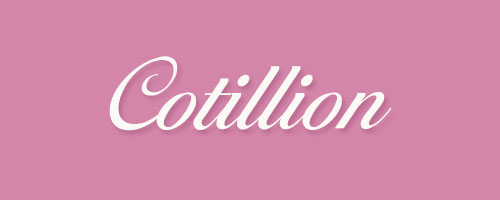 Calligraphy-Cotillion
