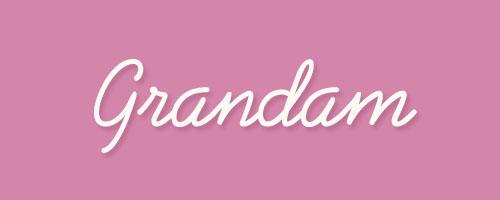 Calligraphy-Grandam
