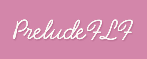 Calligraphy-PreludeFLF