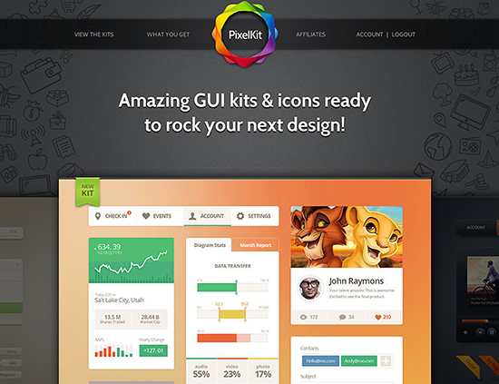 PixelKit Premium UI Kits and Design Resources - s