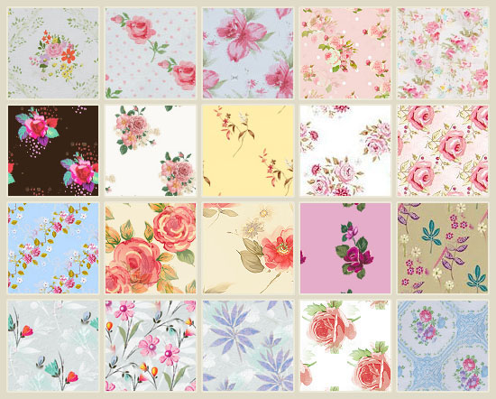 120+ Best Free Floral Patterns: Rose Flower Style | Textuts