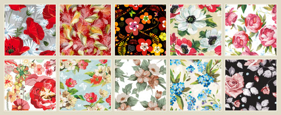 120 Best Free Floral Patterns Rose Flower Style Textuts