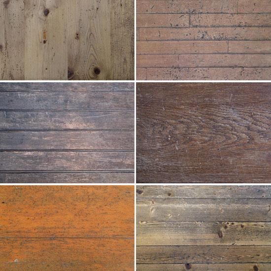 6 Vintage Wood Textures Vol.2