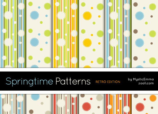 Sprintgtime Patterns Retro Edition Preview