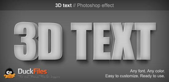 25 free 3d text psd files download 3d font effect textuts