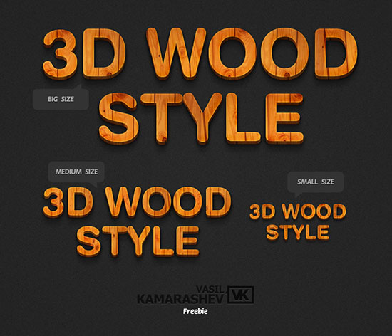 25 Free 3D Text PSD Files: Download 3D Font Effect | Textuts