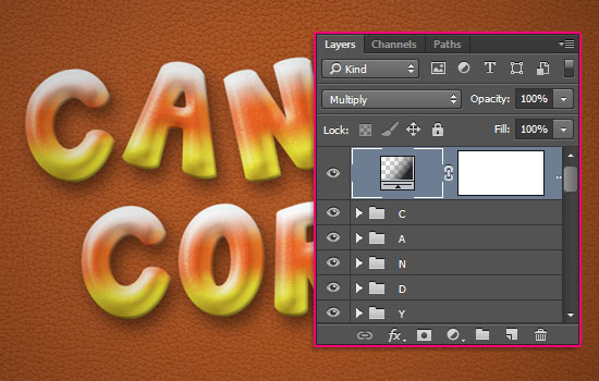 TutorialTitle Text Effect step 9