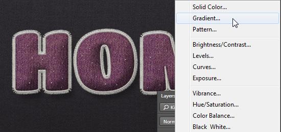 Stuffed Wool Text Effect step 13
