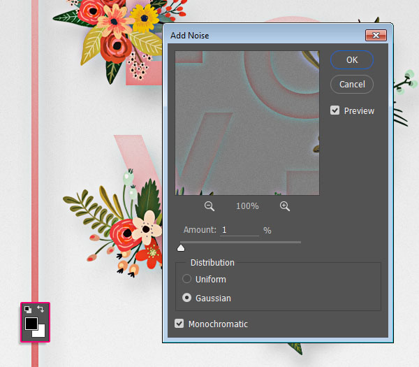 Floral Text Effect step 6